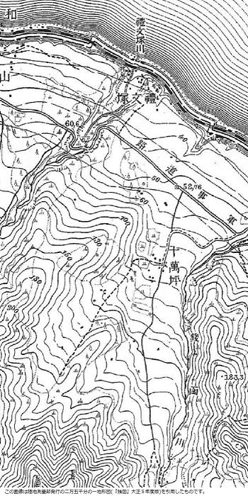 大正5年発行の地形図