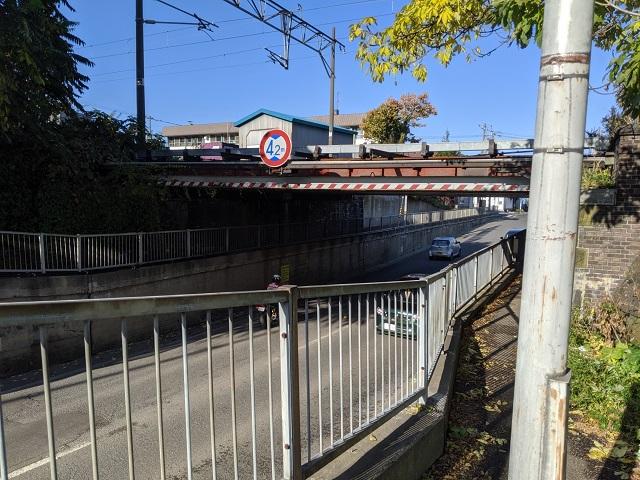 現在の住吉停車場鉄橋