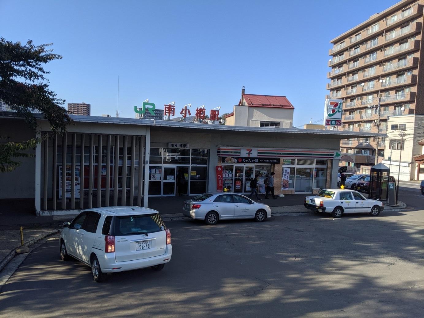 現在の南小樽駅