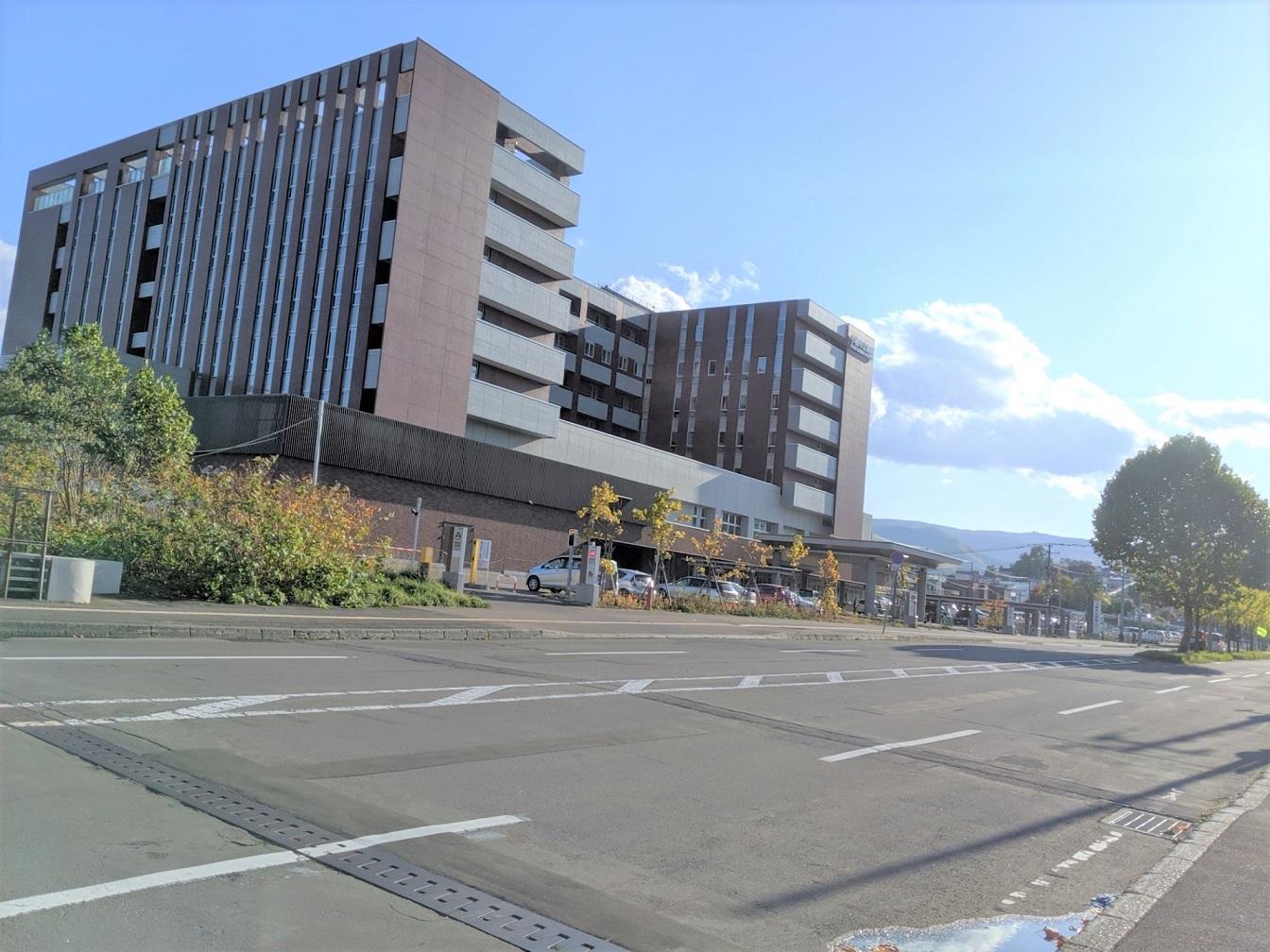平成26年開院の小樽市立病院