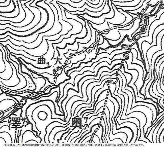 地形図(明治)