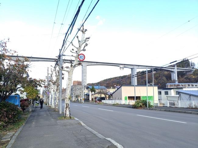 新小樽駅設置予定エリア周辺