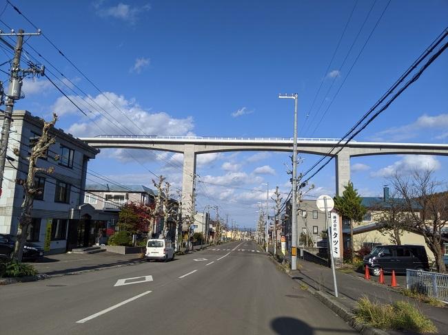 新小樽駅の建設予定地周辺
