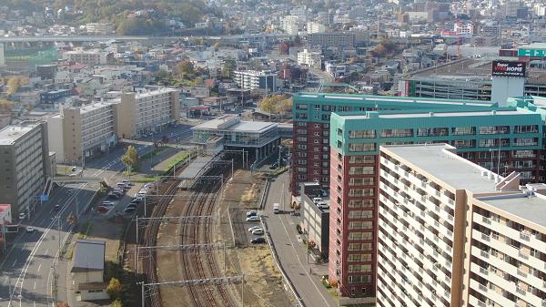 現在の小樽築港駅