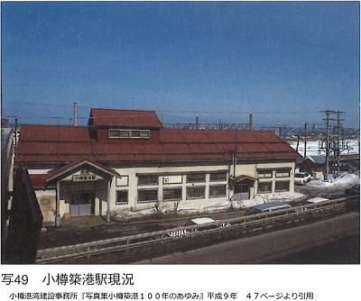 小樽築港駅現況