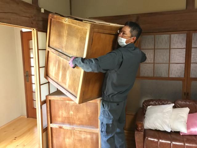 家の不用品を搬出