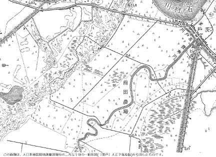 大正の緑苑台の地図
