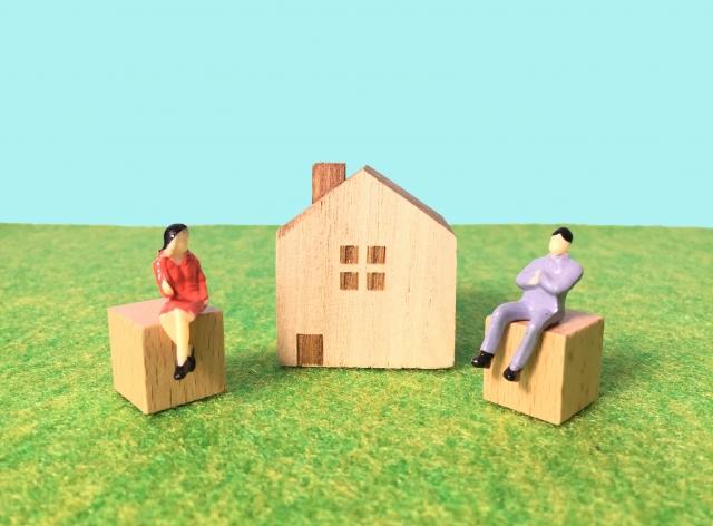 家について考える夫婦