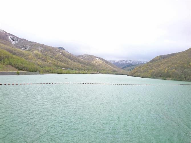 11月のオタルナイ湖