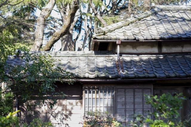 古い和風の木造建築