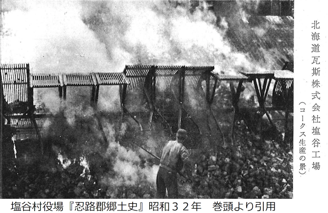 北海道ガスの塩谷工場