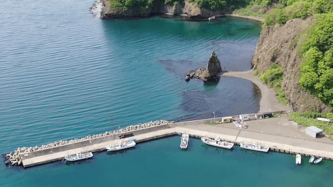 整備された忍路漁港